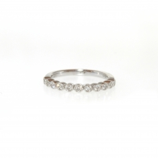 0.22 Carat Diamond Ring In 14k White Gold