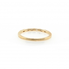 0.23 Carat Diamond Ring In 14k Yellow Gold