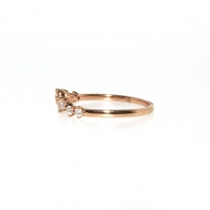 0.30 Carat Diamond Ring In 14k Rose Gold