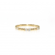 0.35 Carat Diamond Eternity Ring In 14k Yellow Gold