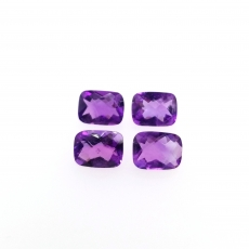 Amethyst Cushion 8x6mm Approximately 5 Carats