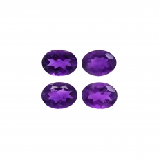 Amethyst Oval 8x6mm Approximately 4.50 Carat