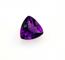 Amethyst Trillion 14mm Approximately  8.20 Carat