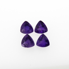 Amethyst Trillion 6mm Approximately 2.78 Carat