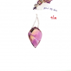 Ametrine Drops Leaf Shape 24x17mm Single Loose Stone