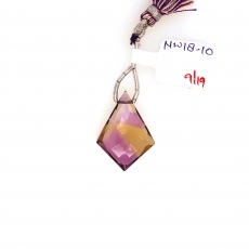 Ametrine Drops Shield Shape 26x19mm Single Loose Stone