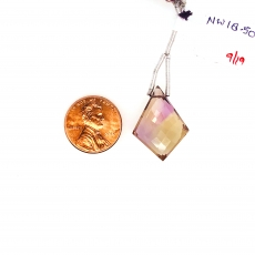 Ametrine Drops Shield Shape 28x18mm Single Loose Stone