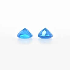 Apatite Approximately 1 Carat Round 5mm Matched Pair