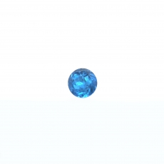 Apatite Approximately .50 Carat Round 5mm