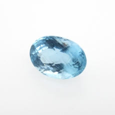 Aquamarine Pear Shape 14x10mm Approximately 6.54 Carat