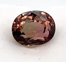 Bi -color Tourmaline Oval Shape 7x5mm Single Piece 2.42 Carat