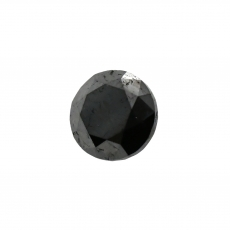 Black Diamond Round 5.7mm Single Piece 0.89 Carat