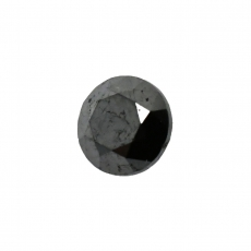 Black Diamond Round 5.8mm Single Piece 0.93 Carat