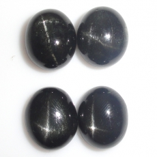 Black Star Diopside Oval 11x9