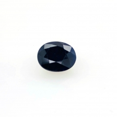 Blue Sapphire Oval 14x12mm Approximately 10.18 Carat Single Piece