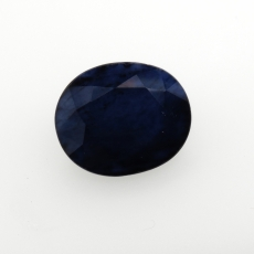 Blue Sapphire Oval Shape 15x12mm Approximately 10.45 Carat Single Piece