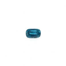 Blue Zircon Emerald Cut 10.5x7.5mm 6.43 Carat Loose Single Pieces
