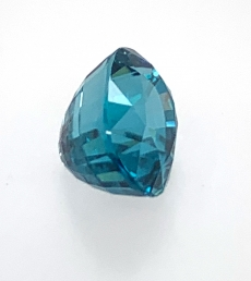 Blue Zircon Oval 9x7mm 5.28carat