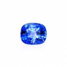 Ceylon Blue Sapphire Cushion 9.5x8mm Approximately 3.81 Carat *