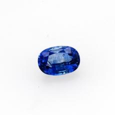 Ceylon Blue Sapphire Oval 10.7x7.5mm Approximately 3.97 Carat *