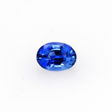 Ceylon Blue Sapphire Oval 9.5x7mm Approximately 2.99 Carat *