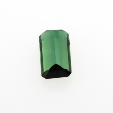 Chrome Tourmaline Elongated Cushion 9x5mm 1.34 Carat Single Piece