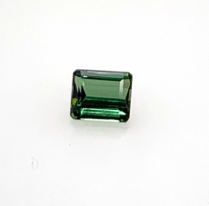 Chrome Tourmaline Emerald  Cut 6.7x5.7mm 1.34 Carat