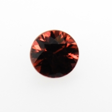 Cinnamon Zircon Round Shape 7.2mm 1.97 Carat Single Loose Piece