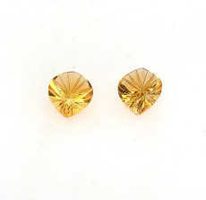 Citrine Approx  8 Carat Fancy Cut Approx  14x12