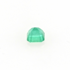 Colombian Emerald Cushion Shape 6.5mm Single Piece Approximately 1.39 Carat