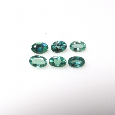 Color Change Alexandrite Oval 3x2mm Approximately 0.53 Carat