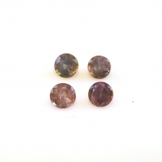 Color Change Alexandrite Round 3.2mm Approximately 0.60 Carat