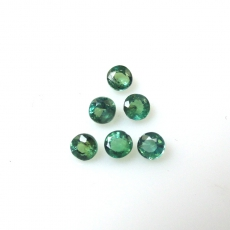 Color Change Alxandrite Round 2.6mm Approximately 0.57 Carat