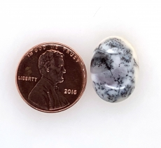 Dendrite Opal Cabs Oval 23x17mm Approx  13carat