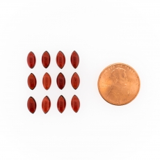 Garnet Cabs Marquise Shape 8 X 4mm Approximately 10.00 Carat