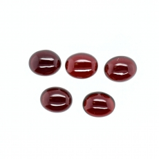 Garnet Cabs Oval Shape 10x8mm Approximately 17.00 Carat