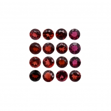 Garnet Round 4.1mm Approximately 5 Carat
