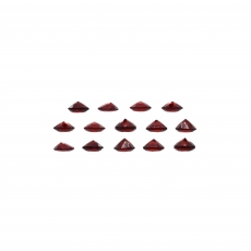 Garnet Round 4.4mm Approximately 5 Carat
