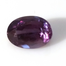 Gia Certified Natural Alexandrite Oval 9.67 X 6.93 X 5.67 Mm 2.98 Carat