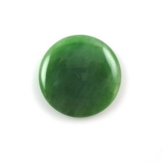 GREEN JADE Round 30MM Approximately  43.58 CARAT