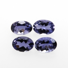 Iolite Oval Shape 7x5mm  Approx  2.62carat