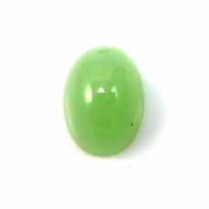 JADE CAB OVAL 18X13MM APPROXIMATELY 18 CARAT