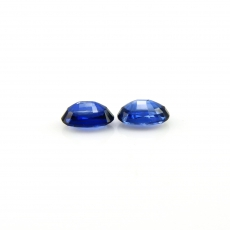 Kyanite Oval 7x5mm Matched Pair Approximately 1.97 Carat