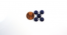 Lapis Cabs  Round 10mm Approx 19 Carat