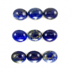 Lapis Cabs Oval 10x8mm Approx  23 Carat