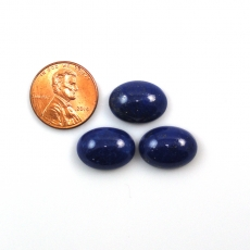Lapis Cabs Oval 16x12mm Approx  25 Carat