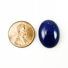 Lapis Cabs Oval 22x16mm Approx  19 Carat