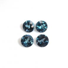 London Topaz Round 5mm Approximately 2 .50 Carat