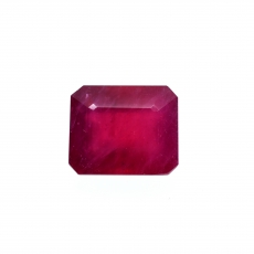 Madagascar Ruby Emerald Cushion 12x10mm Single Piece Approximately 9.03 Carat