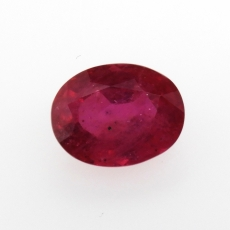 Madagascar Ruby Oval 12x9.5mm Approximately 6.16 Carat Single Piece